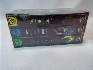 Alien Trilogy VHS   new