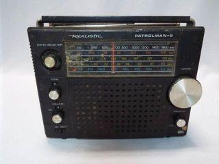 Realistic Patrolman 5 Radio