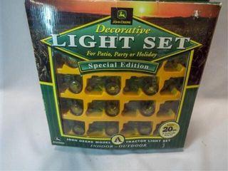 John Deere light Set in box