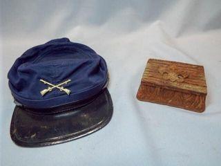 Souvenir Hat  Boy Scouts Multi Trinket Box