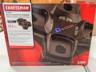 Craftsman 4 Port Charger in box
