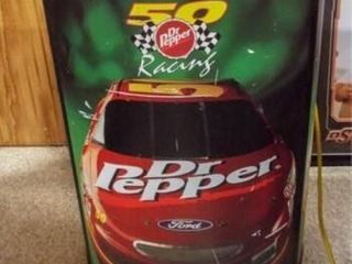 Dr  Pepper Racing Cooler  on casters