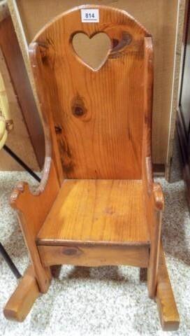 Wood Children s Rocking Chair