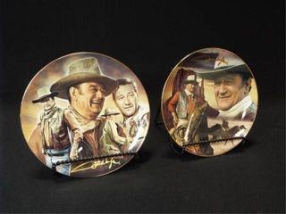 John Wayne Decorative Plates  2