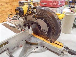 DeWalt Compound Miter Saw  Battery Pack