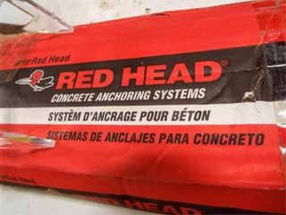 Red Head Concrete Anchors  1  x 12