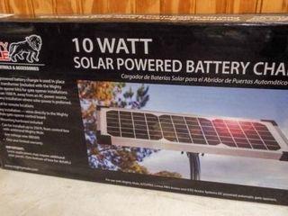 10 Watt Solar Power Battery Charger