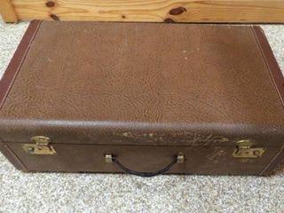 Vintage Suitcase  26 x 15 x 8