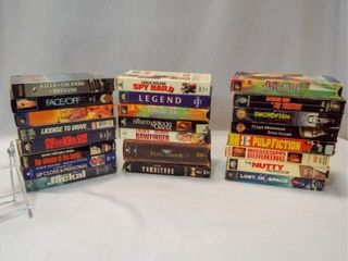 VHS Tapes  20