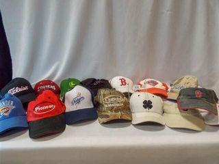 Hats  10  Visors  3