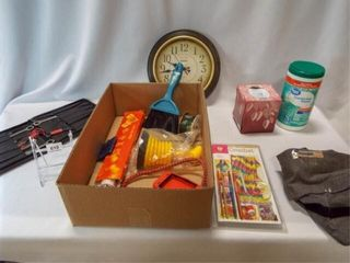 Variety of Household Items   1 box
