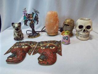 Decor Items  1 box