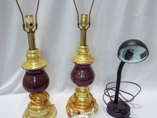 Desk lamp  Matching Table lamps