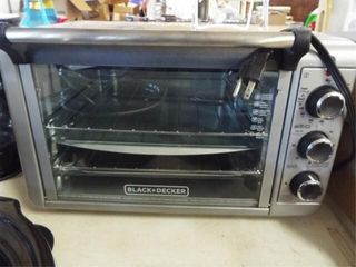 Black   Decker Toaster Oven