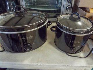 Crock Pots   2 sizes