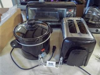 Toaster Oven  Toaster  Crock Pot