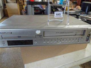 Sylvania VHS  DVD Player