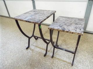 Accent Tables  Metal Base  2