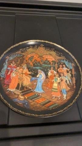 lEGENDS OF THE RUSSIANS  PlATE  PRINCESS AND THE