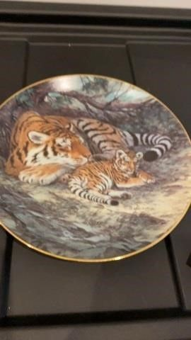 THE SIBERIAN TIGER BY WIll NElSON PlATE
