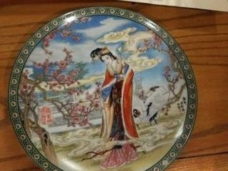 3  THE FlOWER GODDESSES OF CHINA   THE PlUM