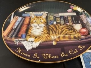 HOME IS WHERE THE CAT IS   KITTY CORNERS  DICKENS