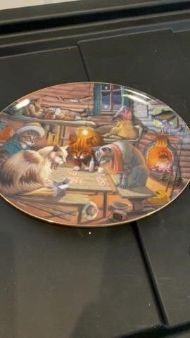lUCK OF THE PAW   FRANKlIN MINT PlATE
