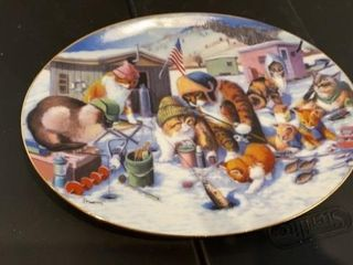 COOl CATS   FRANKlIN MINT PlATE