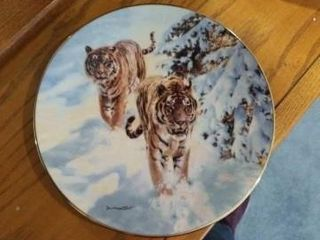 SIBERIAN SNOW TIGERS  BY DONAlD GRANT