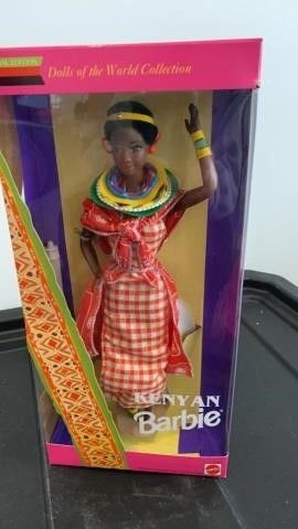KENYAN BARBIE DOllS OF THE WORlD COllECTION 1993