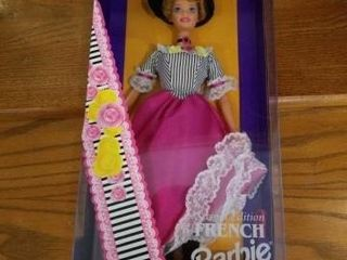 1996 FRENCH BARBIE  DOllS OF THE WORlD