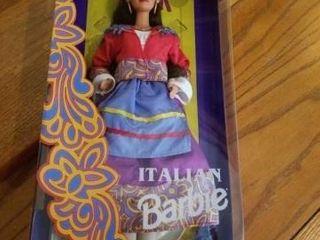 1993 ITAlIAN BARBIE DOllS OF THE WORlD