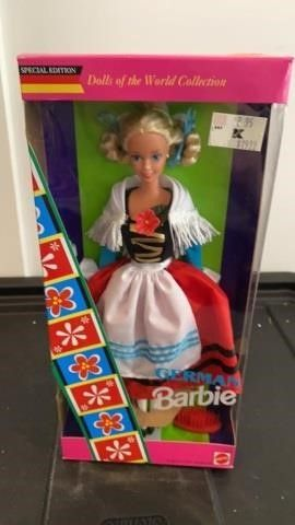 GERMAN BARBIE   DOllS OF THE WOElD COllECTION
