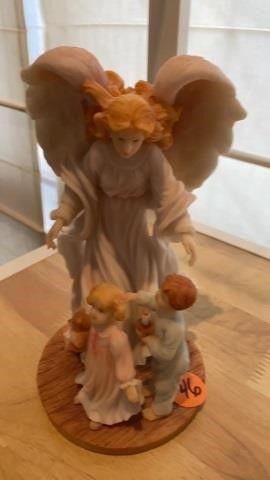 SERQPHIM ANGEl BlESSED GUARDIAN FIGURINE