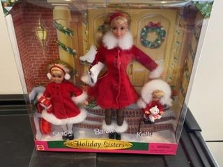 BARBIE  STACIE   KEllY   HOlIDAY SISTERS GIFT SET