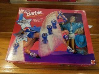 1993 BARBIE WESTERN STAR HORSE