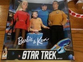 1996 BARBIE AND KEN STAR TREK
