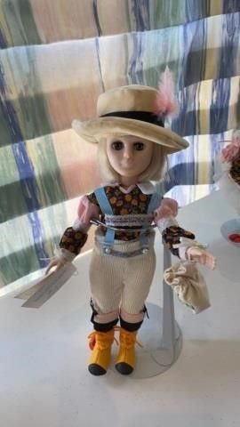 EFFANBEE DOll STORY BOOK COllECTION HANSEl