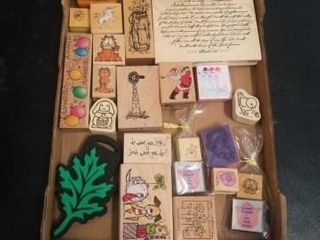 MISCEllANOUS RUBBER STAMPS