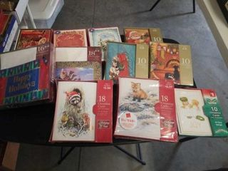 11 BOXES OF ASSORTED CHRISTMAS CARDS
