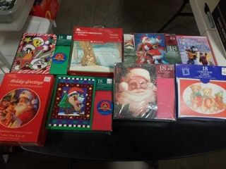 8 BOXES OF FUN CHRISTMAS CARDS