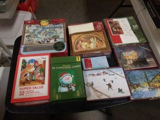 9 ASSORTED CHRISTMAS CARDS
