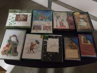 8 ASSORTED BOXES OF CHRISTMAS CARDS
