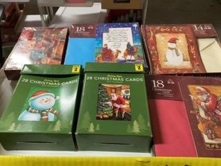 7 BOXES OF NEW CHRISTMAS CARDS