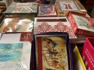 8 BOXES OF NEW CHRISTMAS CARDS