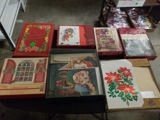 7 BOXES OF CHRISTMAS CARDS