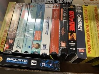 NEW VHS MOVIES
