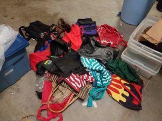 MISCEllANOUS BAG OF DUFFlE  BACK PACK  BAGS