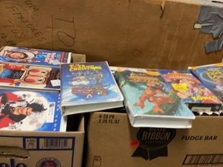 VHS CHIlDRENS MOVIES