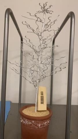 EASTER TREE CERAMIC POT